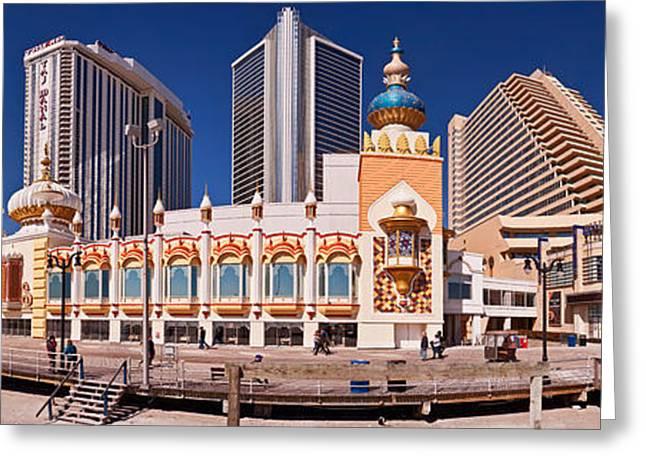 Trumps Taj Mahal Casino Greeting Card