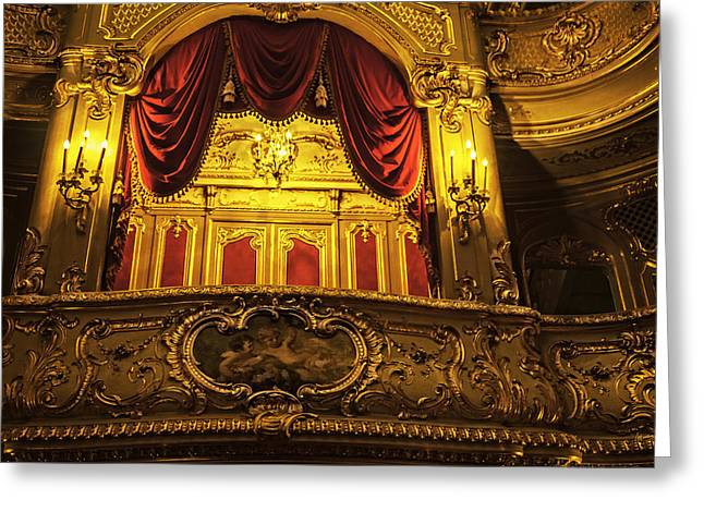 Tsar's Box 2 - Mariinsky Theater - St. Petersburg - Russia Greeting Card by Madeline Ellis