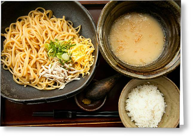 Tsukemen Greeting Card
