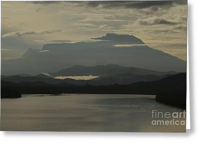 Greeting Card featuring the photograph Tuaran River by Gary Bridger