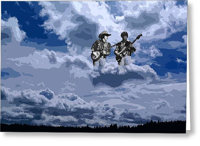 Tucker Boys In The Clouds 2 Greeting Card