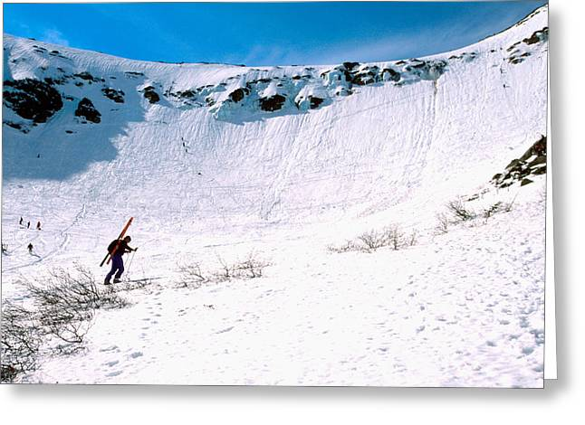 Tuckerman Ravine Greeting Card