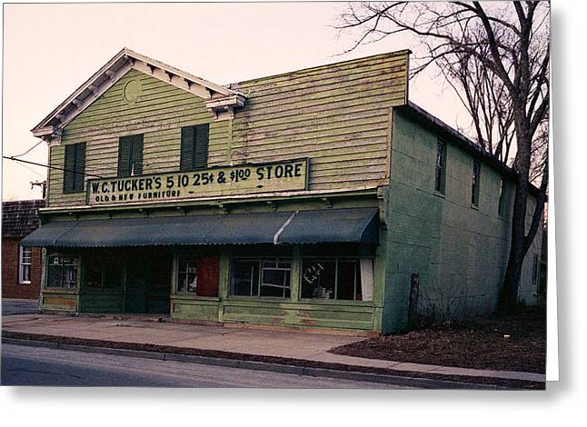 Tuckers Country Store In Virginia Greeting Card by Thomas D McManus