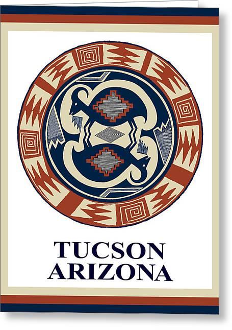 Tucson Arizona  Greeting Card