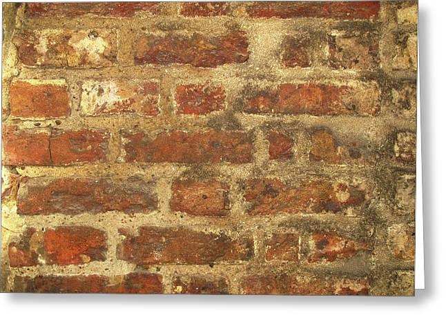Tudor Brickwork Greeting Card