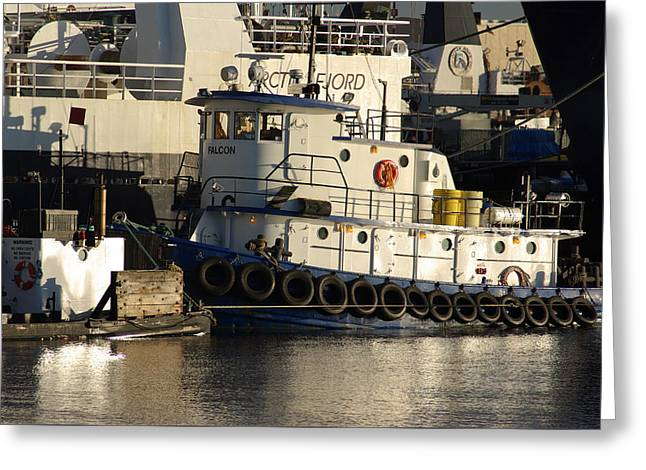 Greeting Card featuring the photograph Tug by Erin Kohlenberg