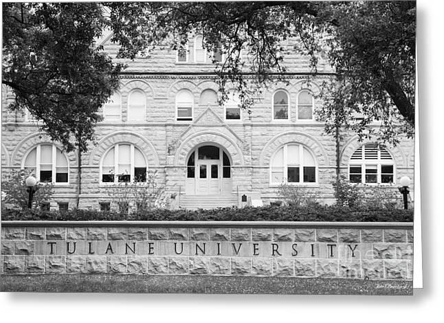 Tulane University Gibson Hall Greeting Card by University Icons
