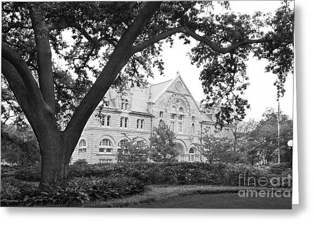 Tulane University Tilton Hall Landscape Greeting Card by University Icons
