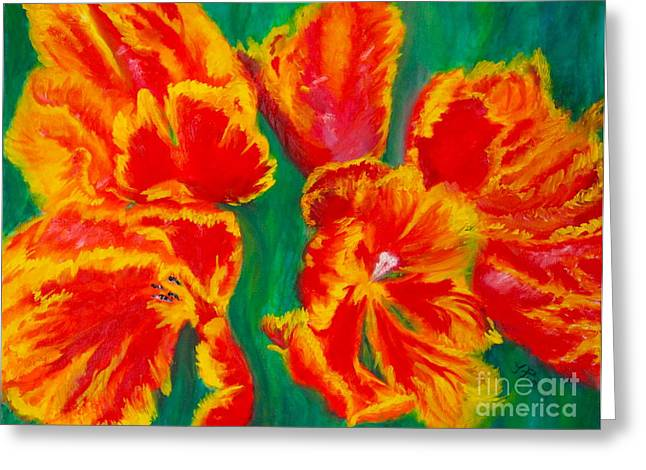 Tulip Days Greeting Card