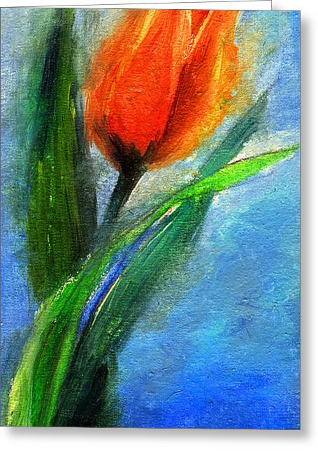 Tulip - Flower For You Greeting Card