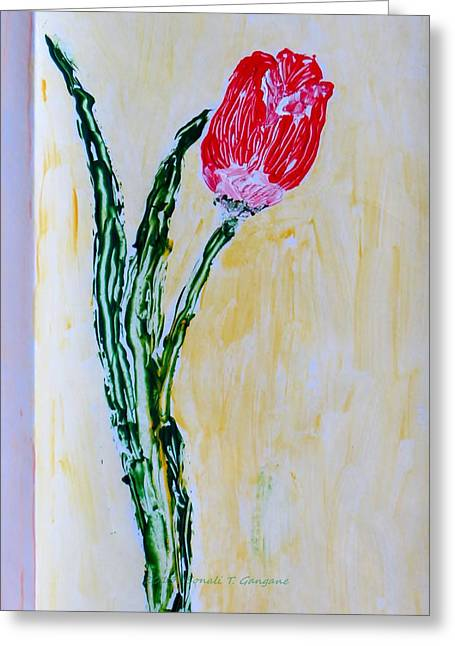 Tulip For You Greeting Card by Sonali Gangane