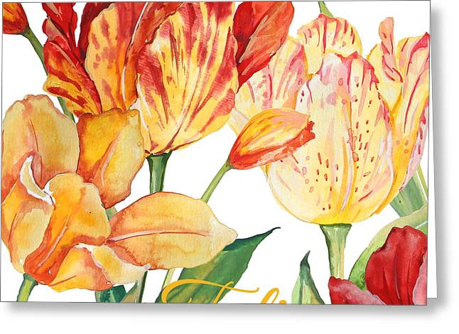 Tulip-jp2583 Greeting Card