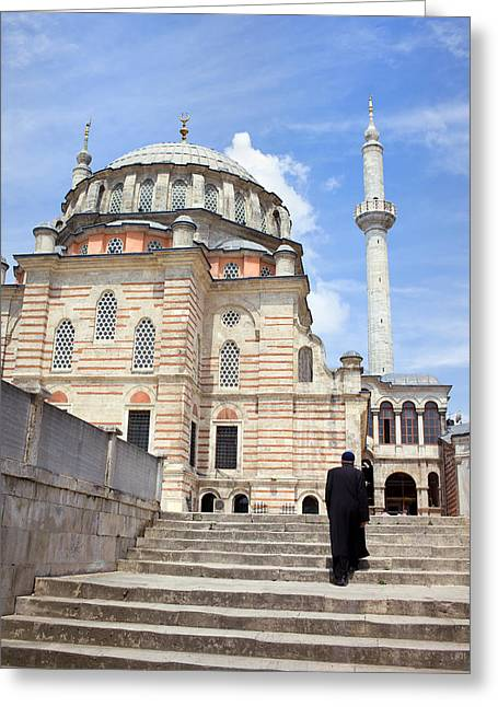 Tulip Mosque In Istanbul Greeting Card