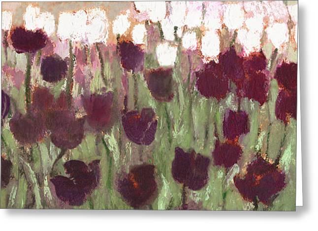 Tulip Riot Il Greeting Card