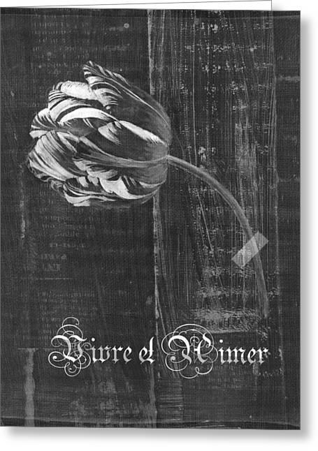 Tulip - Vivre Et Aimer S10t04t Greeting Card