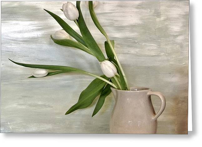Tulips Dancing Greeting Card