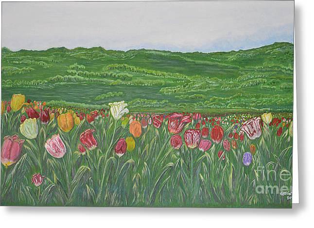 Tulips Dream Greeting Card