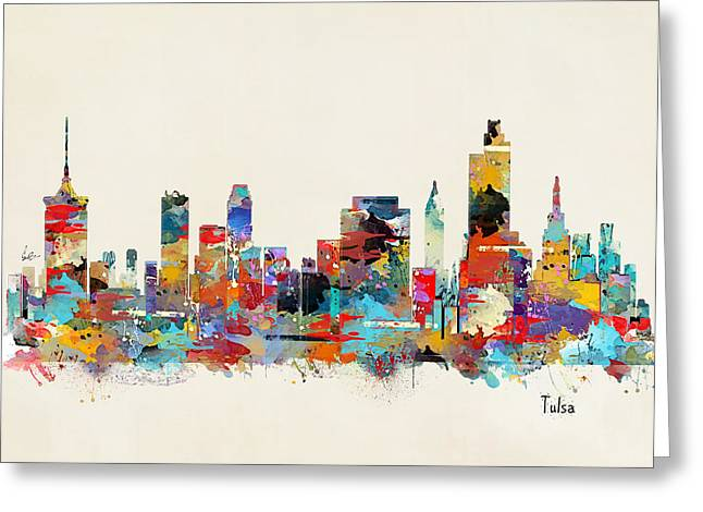 Tulsa Oklahoma Greeting Card