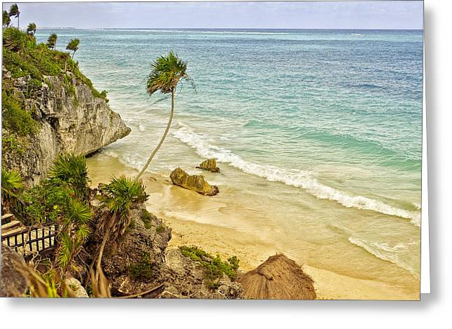 Tulum Beach Greeting Card