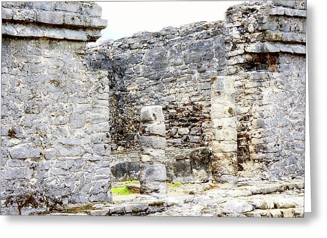 Tulum Ruins 1 Greeting Card