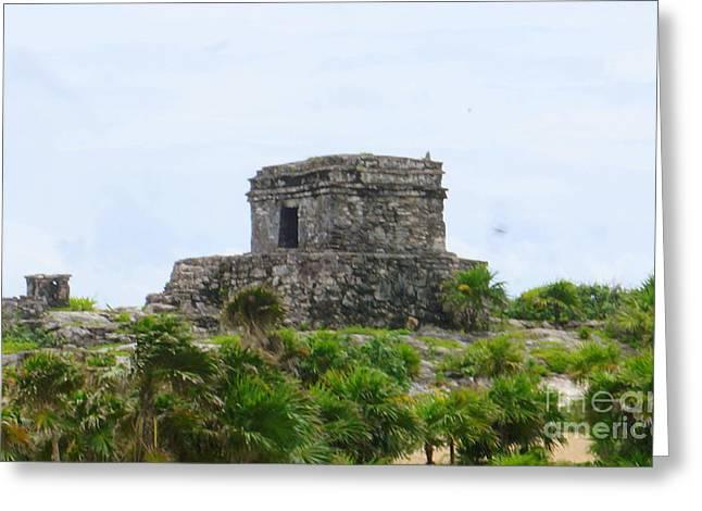 Tulum Ruins 2 Greeting Card