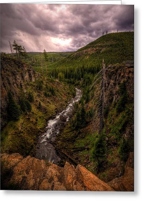 Greeting Card featuring the photograph Tumalo Creek by Matt Hanson