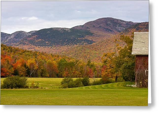 Tumbledown Mountain In The Fall Greeting Card by Benjamin Williamson
