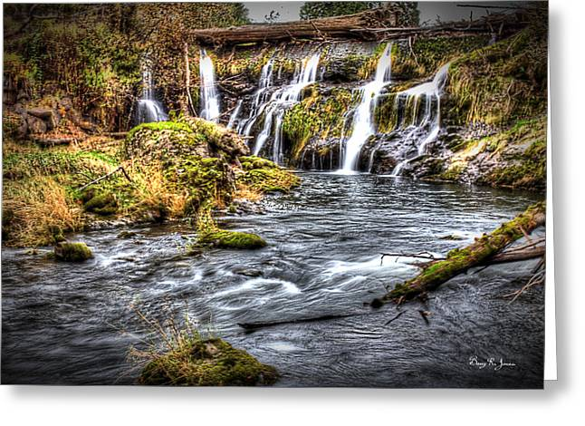 Tumwater Falls  Greeting Card