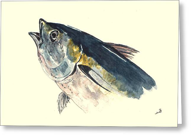 Tuna Fish Greeting Card