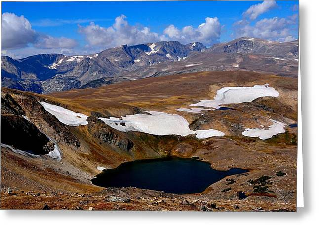 Tundra Tarn Greeting Card