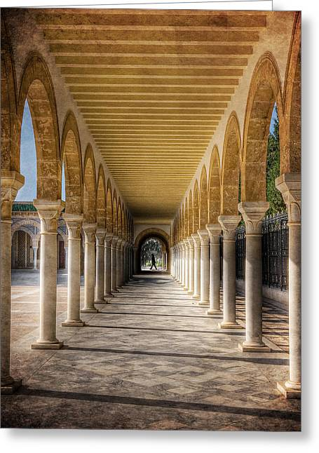 Tunisian Arches / Monastir Greeting Card