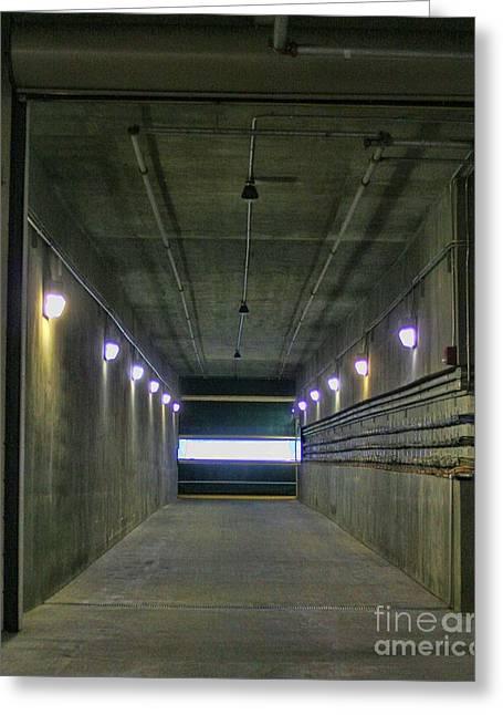 Tunnel Of Heroes - Lambeau Field Greeting Card