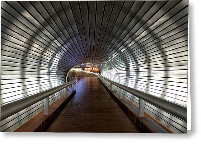 Tunneling In New Haven Greeting Card