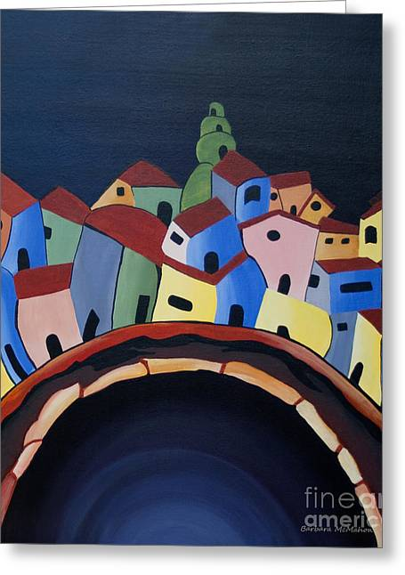 Tunnels Of Guanajuato Greeting Card