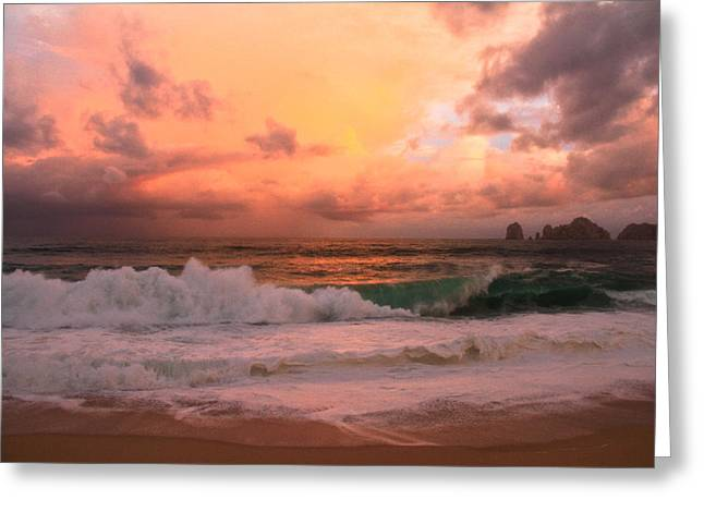 Greeting Card featuring the photograph Turbulence  by Eti Reid