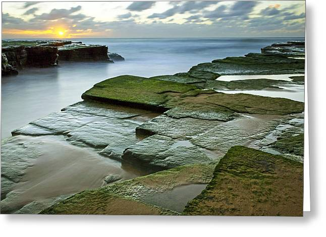 Turimetta Beach Sunrise Greeting Card