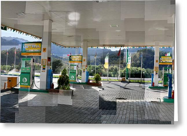 Turkish Gas Greeting Card