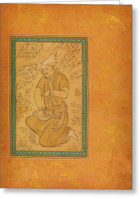 Turkoman Prisoner Greeting Card by Celestial Images