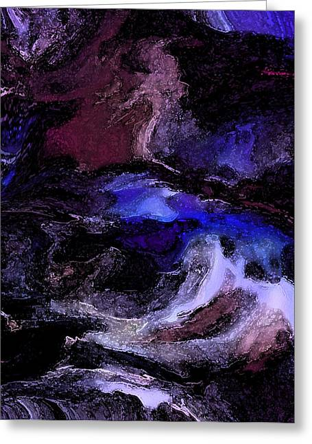 Turmoil Of The Mind Greeting Card by Sherri's Of Palm Springs