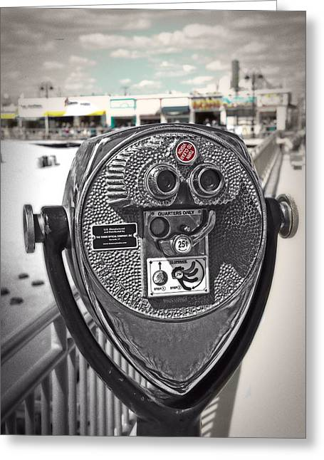 Turn To Clear The Boardwalk Greeting Card by Tom Gari Gallery-Three-Photography