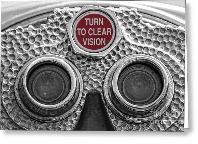 Turn To Clear Vision Greeting Card by Juli Scalzi