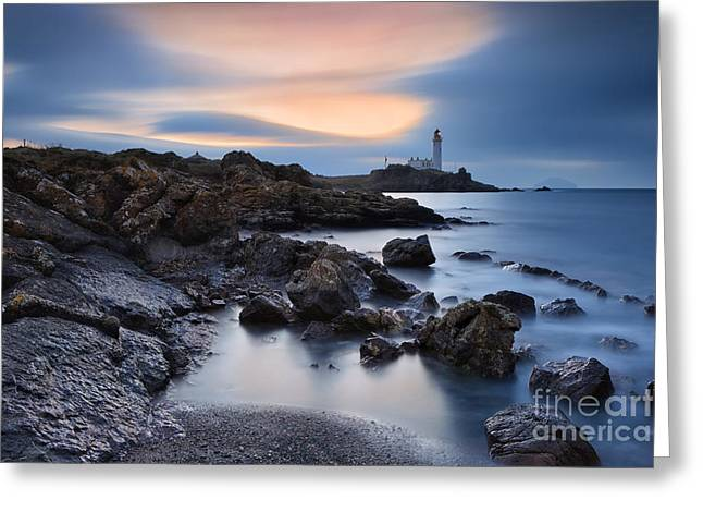 Turnberry Lighthouse Greeting Card by Rod McLean