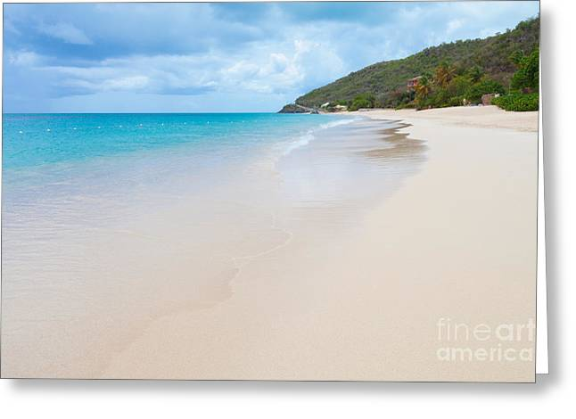 Turner Beach Antigua Greeting Card