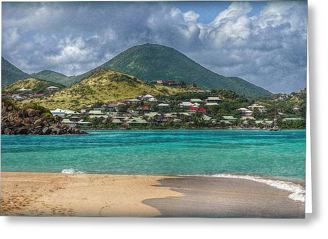Greeting Card featuring the photograph Turquoise Paradise by Hanny Heim
