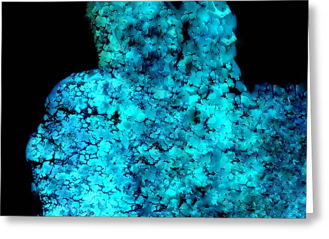 Turquoise Stone Photo Greeting Card by Colette V Hera  Guggenheim