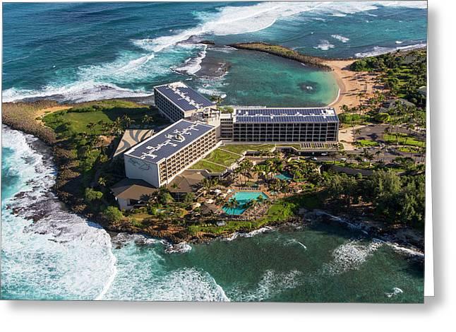 Turtle Bay, Resort, North Shore, Oahu Greeting Card by Douglas Peebles