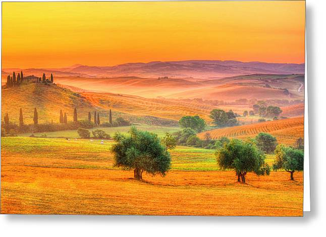 Tuscan Dream Greeting Card