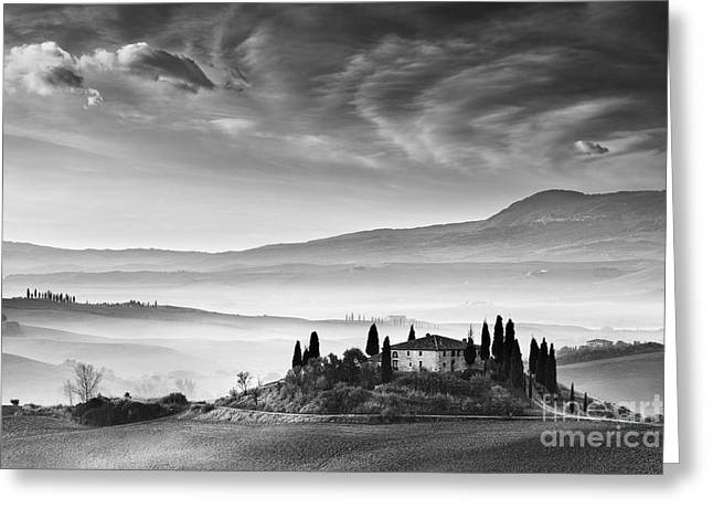 Podere Belvedere 1 Greeting Card by Rod McLean