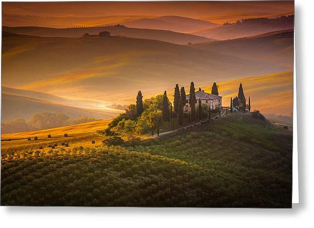 Tuscan Morning Greeting Card