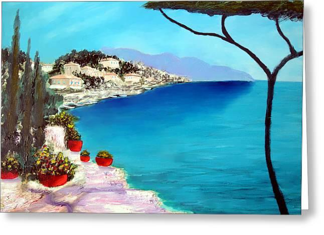Tuscan Sea Greeting Card